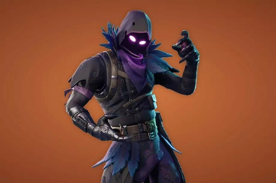 raven skin fortnite battle royale