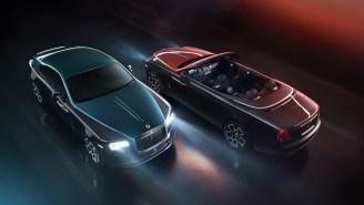 Rolls-Royce Unveils Ultra-Dark 'Adamas' Black Badge Collection With Carbon Fiber Spirit Of Ecstasy