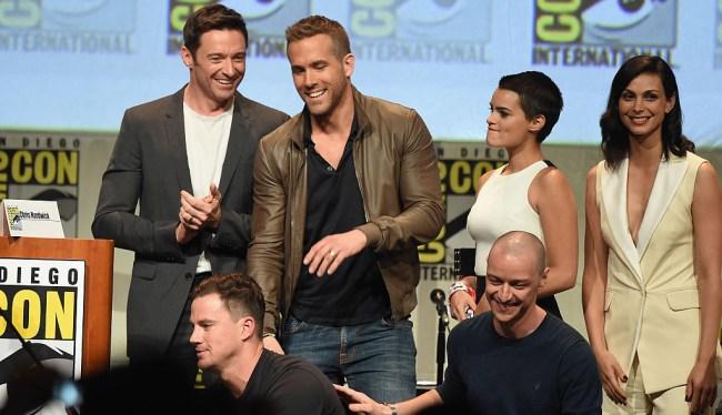 Ryan Reynolds Deadpool Hugh Jackman Message