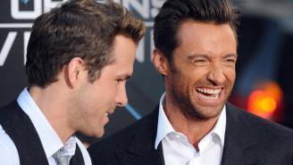Ryan Reynolds Dunks All Over Hugh Jackman's Touching Anniversary Tribute To His Wife