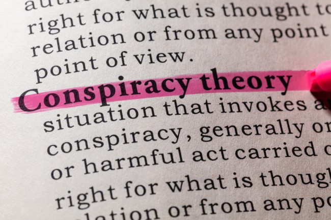 how conspiracy theories spread