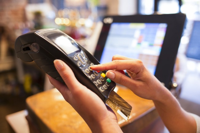 debit card machine