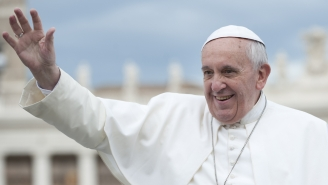 Pope Receives 23-Year-Old Pappy Van Winkle Bourbon And Loves It