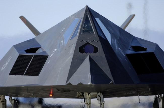 F-117 Nighthawk Stealth Bomber