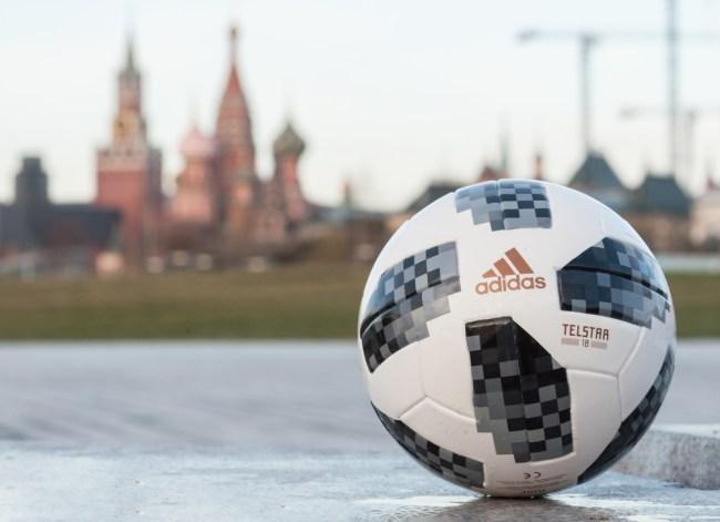 FIFA world cup soccer ball Russia