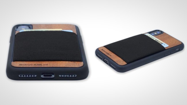 slim classic iPhone X Wallet Cast jimmyCASE