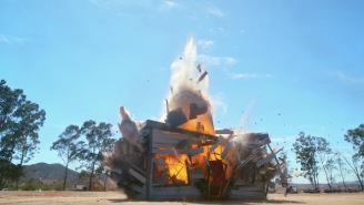 Clip Of A House Exploding In Slow-Mo HD Would Make Explosive Director Michael Bay Proud