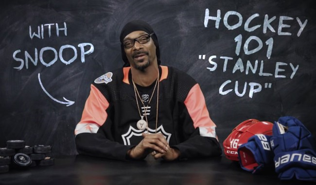 Snoop Dogg Stanley Cup Hockey 101