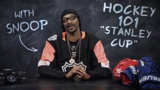 Snoop Dogg Gives Us A Tutorial On The Stanley Cup In His Entertaining New Series 'Hockey 101'
