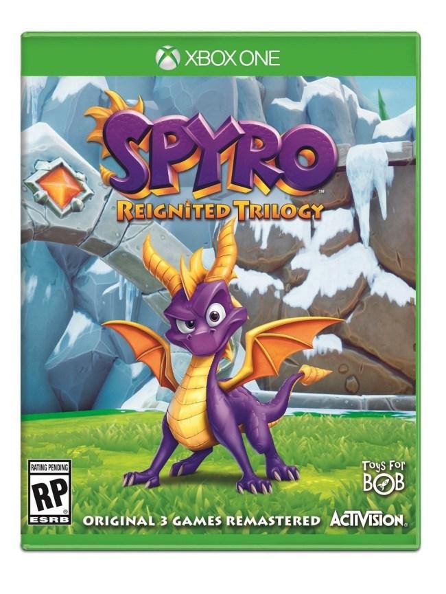 spyro reignited remaster trilogy game