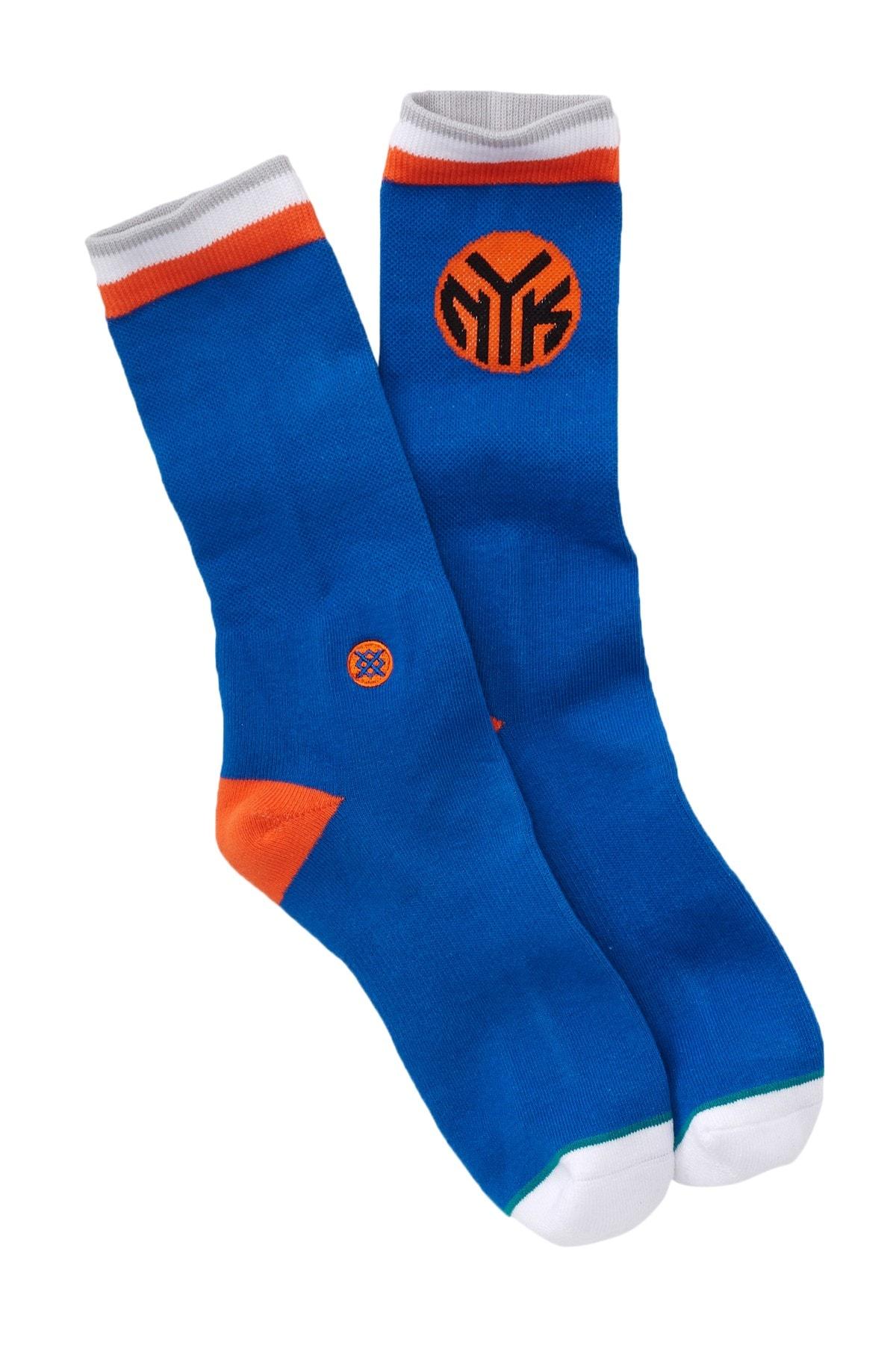 stance socks knicks nyk