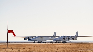 The Largest Airplane Ever Built Has A Wingspan Much Longer Than A Football Field And Is Expected To Take Flight Soon