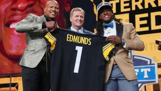 Terrell Edmunds Was In The Bathroom At The NFL Draft When He Was Selected Because He Didn't Think He Was Going To Get Picked So Early On