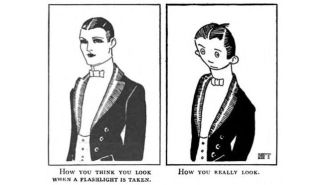 This Illustration From 1921 Could Be The First Meme Ever Made