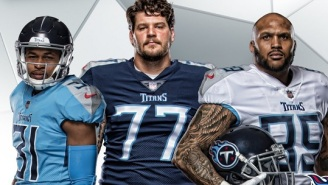 The Tennessee Titans Unveil Their New Uniforms And The Initial Reactions Are Mixed