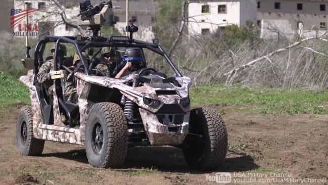 US Marines Nikola Reckless NZT UTV