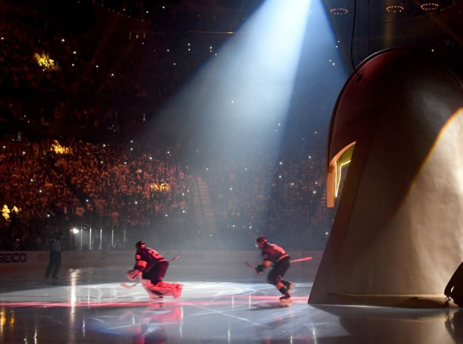 Vegas Golden Knights NHL Playoffs Pregame Ceremony
