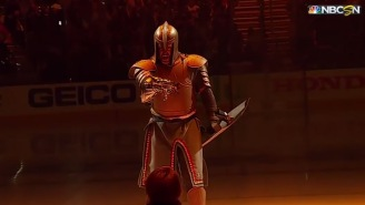 The Vegas Golden Knights Put On The Craziest Pregame Ceremony In The History Of Sports