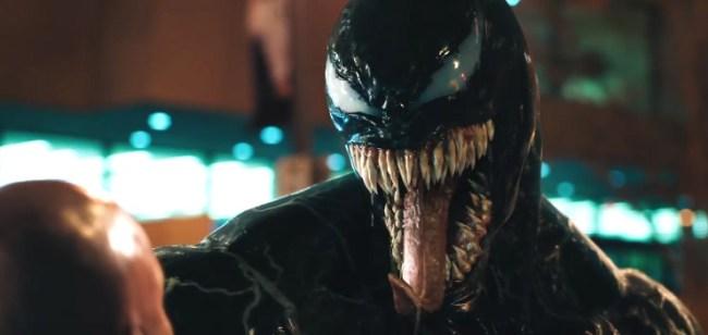venom trailer 2 poster easter eggs
