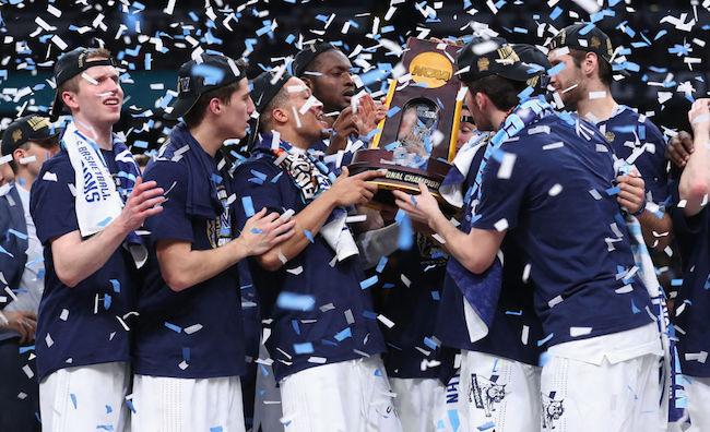villanova 2018 national championship trophy