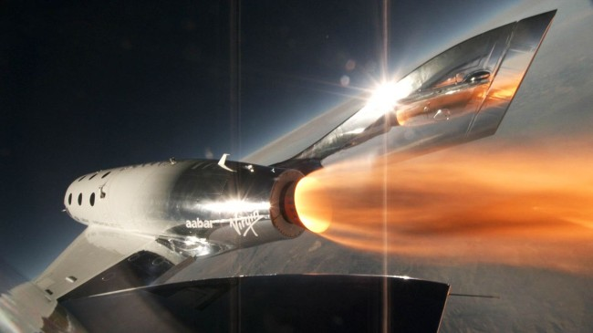 Virgin Galactic SpaceShipTwo Richard Branson