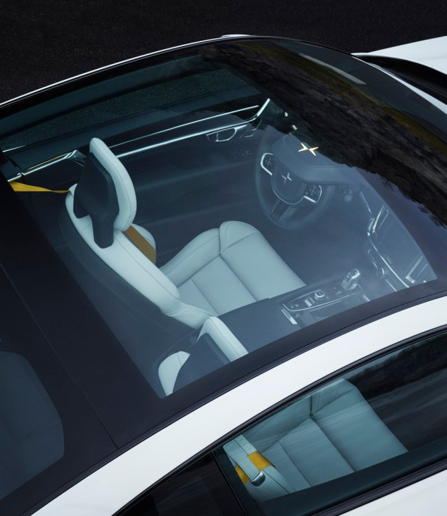 Volvo Polestar Brand Hybrid Performance Car