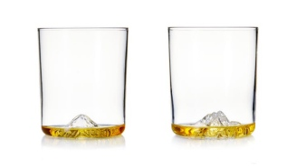 Get 50% OFF On Whiskey Peaks Rock Glasses Featuring America's Greatest Mountains