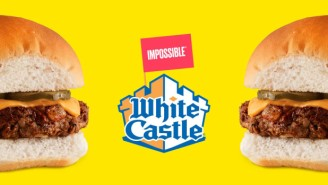 We Now Live In A World Where White Castle Sells 'Bleeding' Vegan Sliders From Impossible Burger
