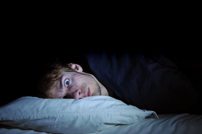 wide awake at night