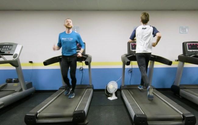 Aaron Yoder world's fastest backward runner