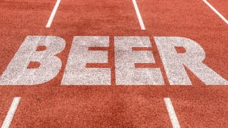 This 0.5K Race With Beer, Doughnut, Coffee And Smoking Stations Along The Way Sounds Perfect