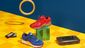 Puma's Sonic The Hedgehog Sneakers Are Like Dipping Your Feet Into Your Childhood