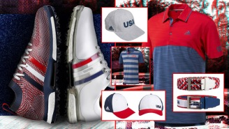 Adidas Unveils USA GOLF Collection Featuring Red, White And Blue Polos, Caps, Belts And Shoes
