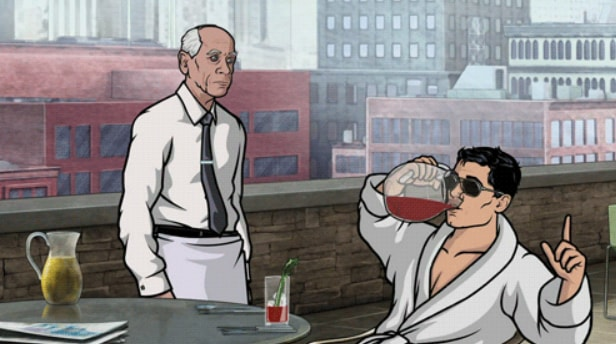 Archer Bloody Mary Hangover