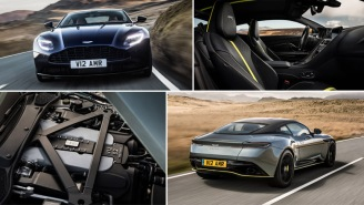 Meet Your New Dream Car, The 630 HP, 208 MPH Aston Martin Limited Edition DB11 AMR