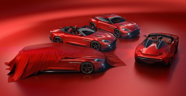 Aston Martin Vanquish Zagato Car Models