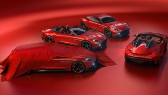 The Aston Martin Vanquish Zagato Family Of Cars Might Just Be The Sexiest Vehicles Ever Created