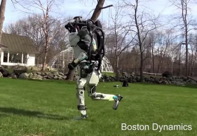 Boston Dynamics Running Robot Atlas