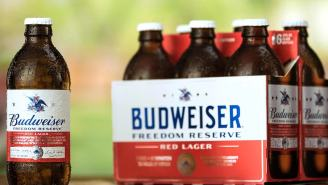 Budweiser Brews Freedom Reserve Red Lager Based On 261-Year-Old Beer Recipe From George Washington