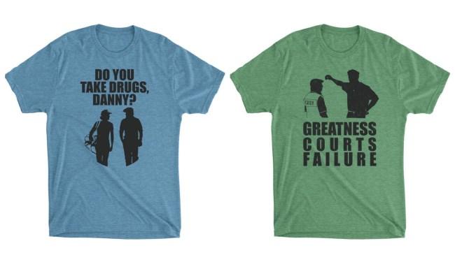 Funny golf t-shirts