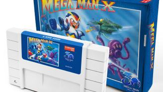 Capcom Is Re-Releasing Classic 'Mega Man' Games On NES And SNES Cartridges