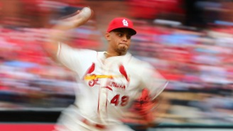 Watch Cardinals Reliever Jordan Hicks Throw Five Straight Pitches Between 103 And 105 MPH
