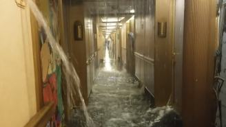 Passenger: 'Say A Prayer For Us All' As Carnival Cruise Ship Floods With Water