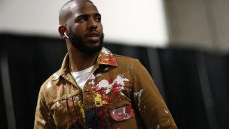 Chris Paul Had An Unconventional Strategy To Get Pumped Up Before Last Night's Playoff Game