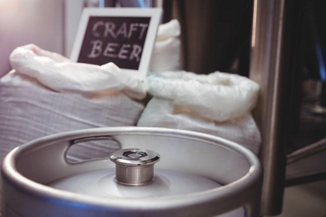 craft beer keg