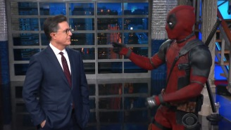 Deadpool Crashed Stephen Colbert's Monologue And Hard To Believe, But It Was Very Funny