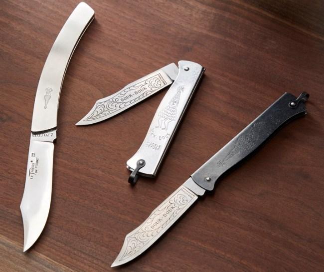 Douk-Douk Stainless Steel Pocket Knives