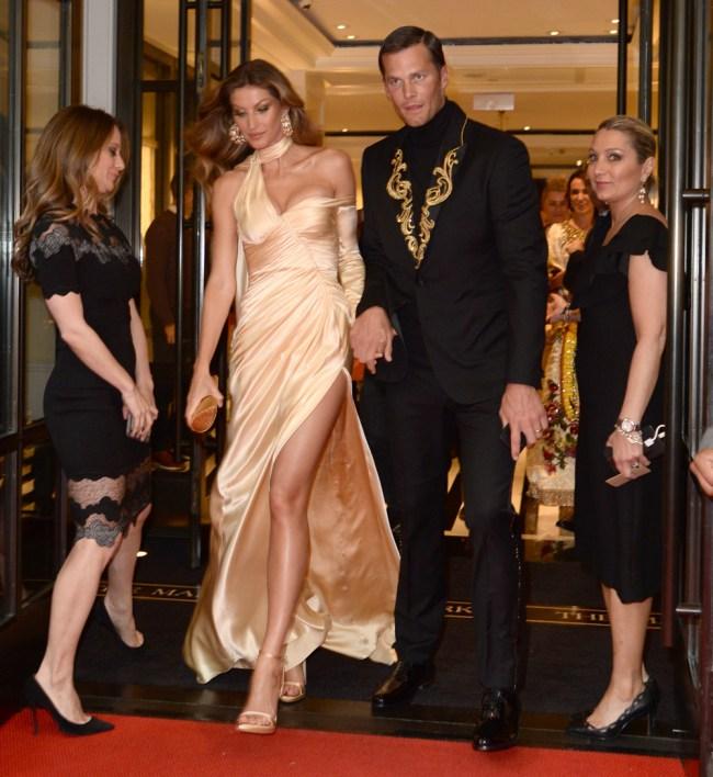 Drew Bledsoe Mocks Tom Brady Met Gala Outfit