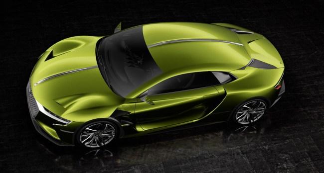 DS X E-Tense concept supercar