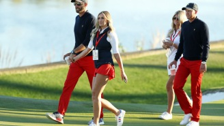 Dustin Johnson Says He Gets Yelled At By Paulina Gretzky For Hitting Golf Balls In The House